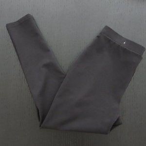 Chico's Ponte Black Crop Leggings  1 (M / 8) LKNU